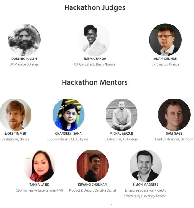 Hackathon Mentors & Judges