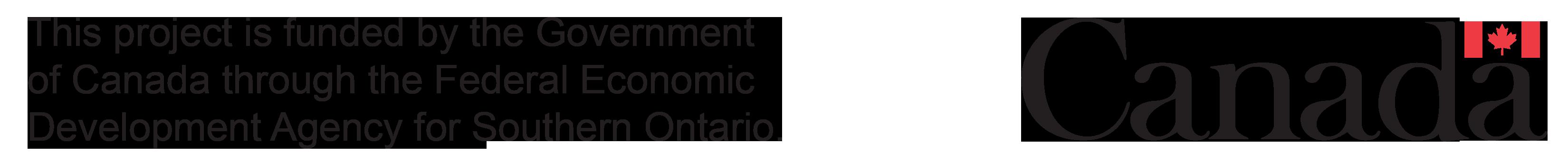 FedDev Ontario Logo