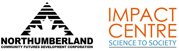 Northumberland CFDC and Impact Centre Logos