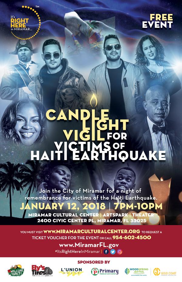 Haiti Candle Light Vigil
