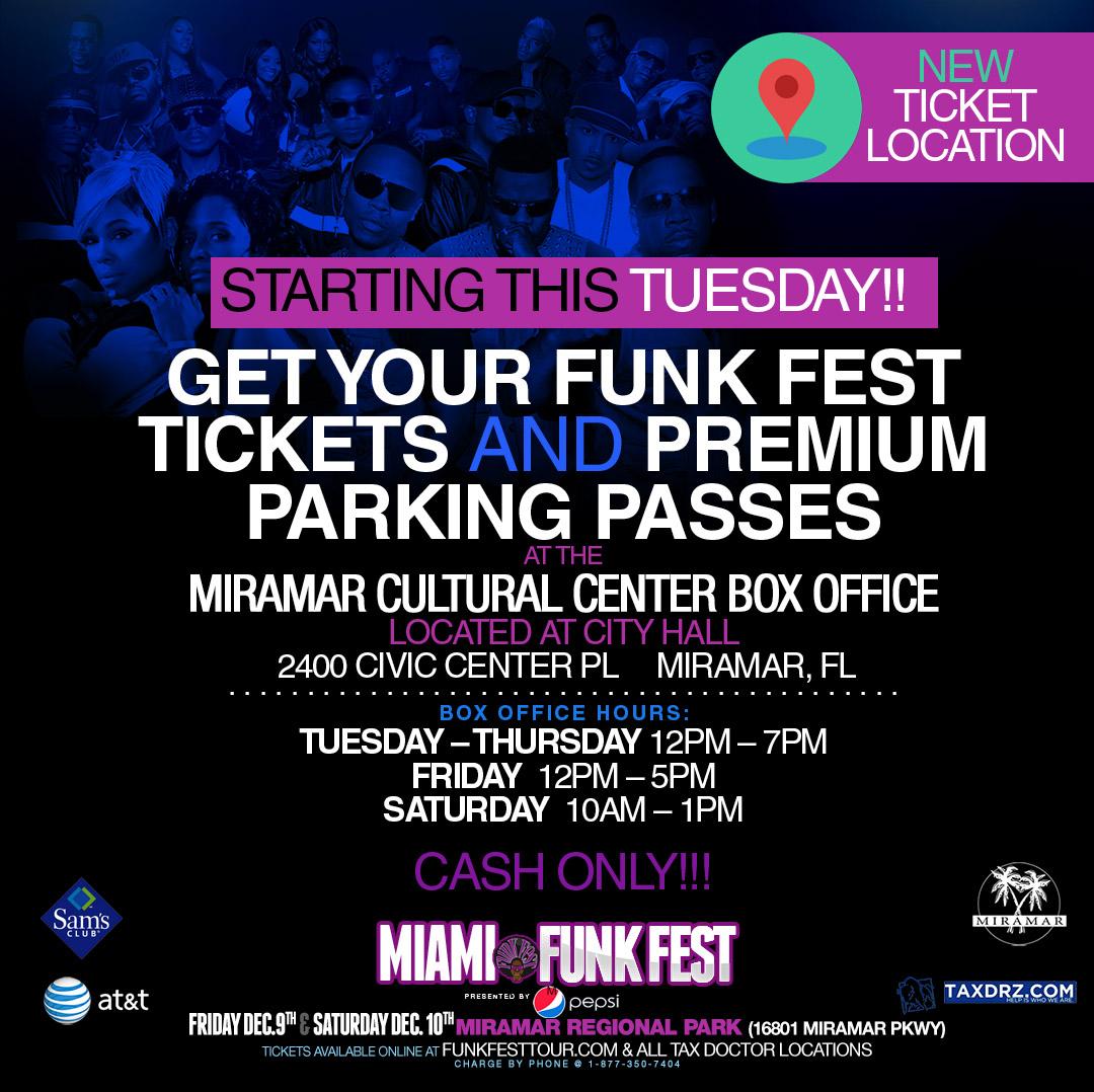 Funk Fest Parking