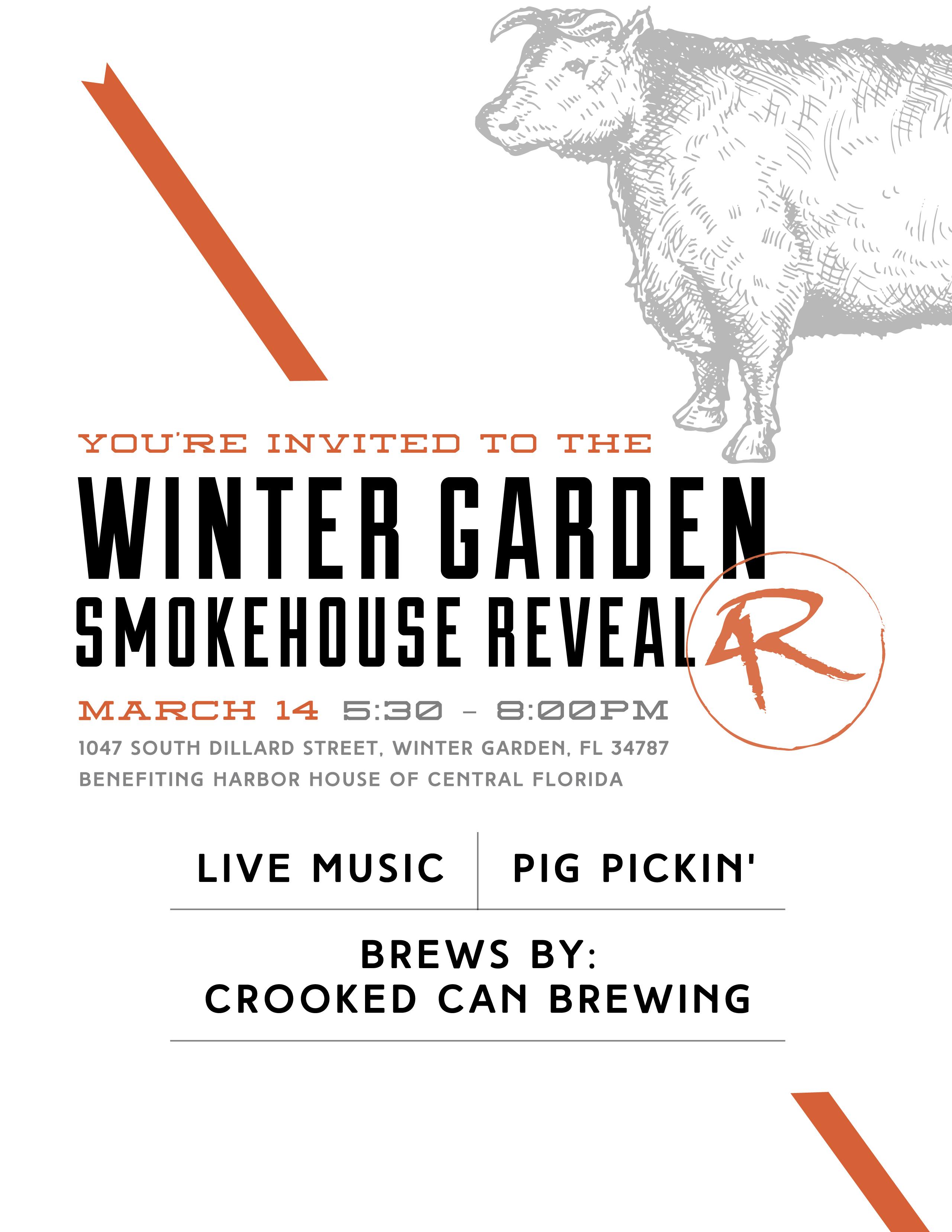 4rivers winter garden smokehouse reveal tickets tue mar 14 2017
