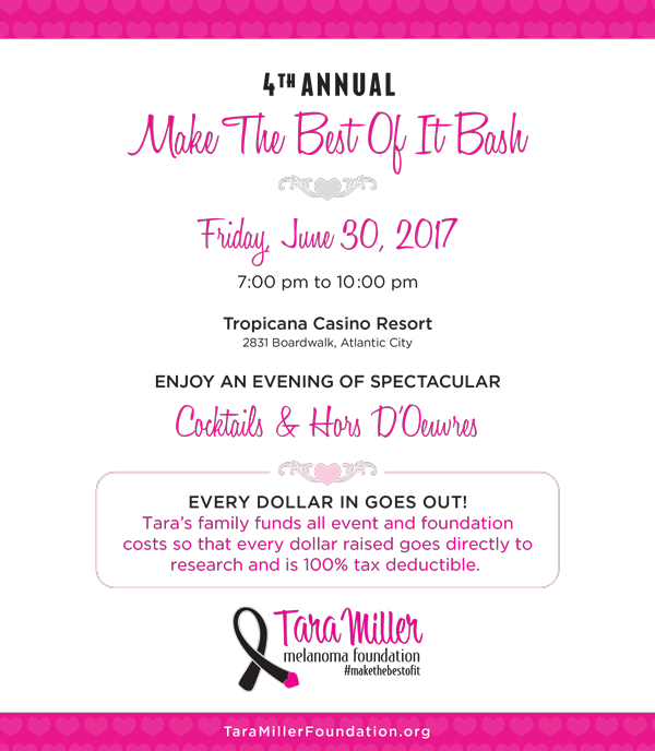 tara miller foundation invite