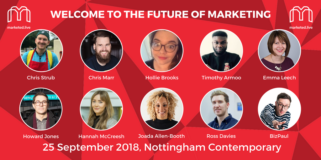 MarketEd.Live 2018 Speakers