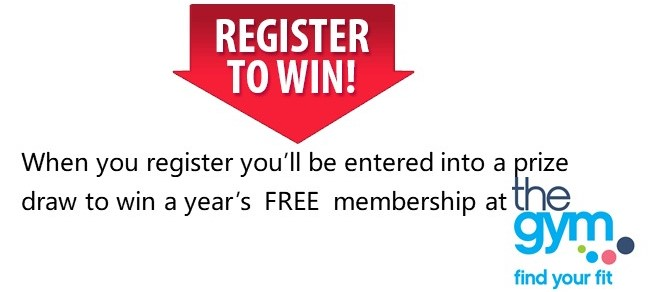 Win a year's FREE membership at The Gym