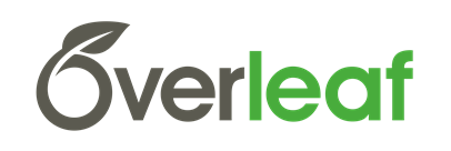 Logo for sponsor, Overleaf