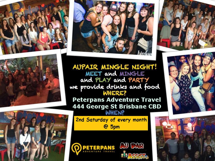 Au Pair Mingle and Party