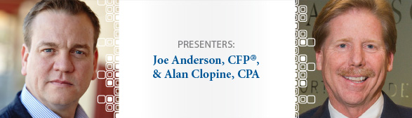 Joe Anderson and Alan Clopine