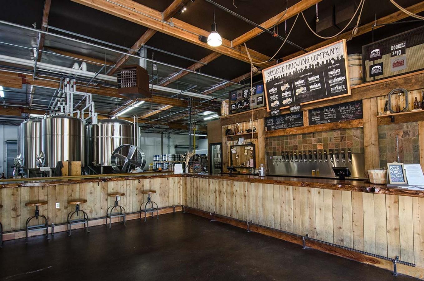 Societe Brewing Tasting Room