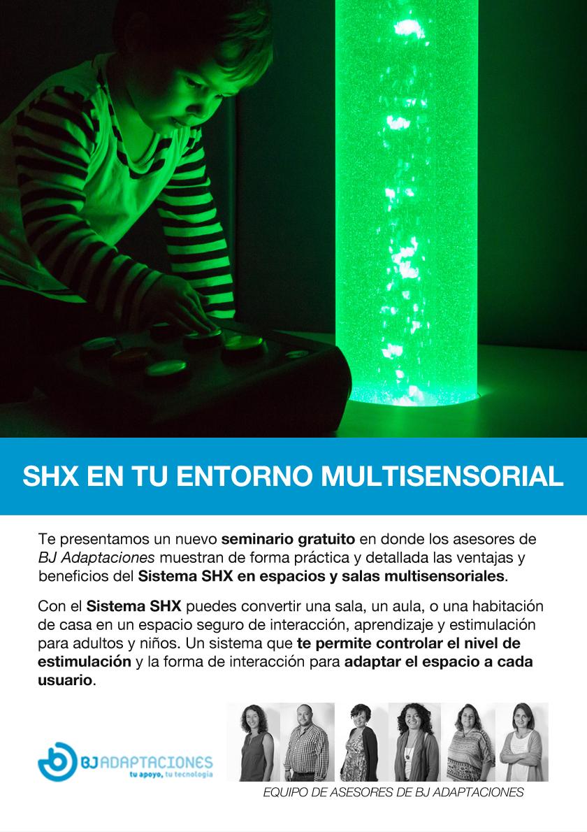 SHX en tu entorno multisensorial