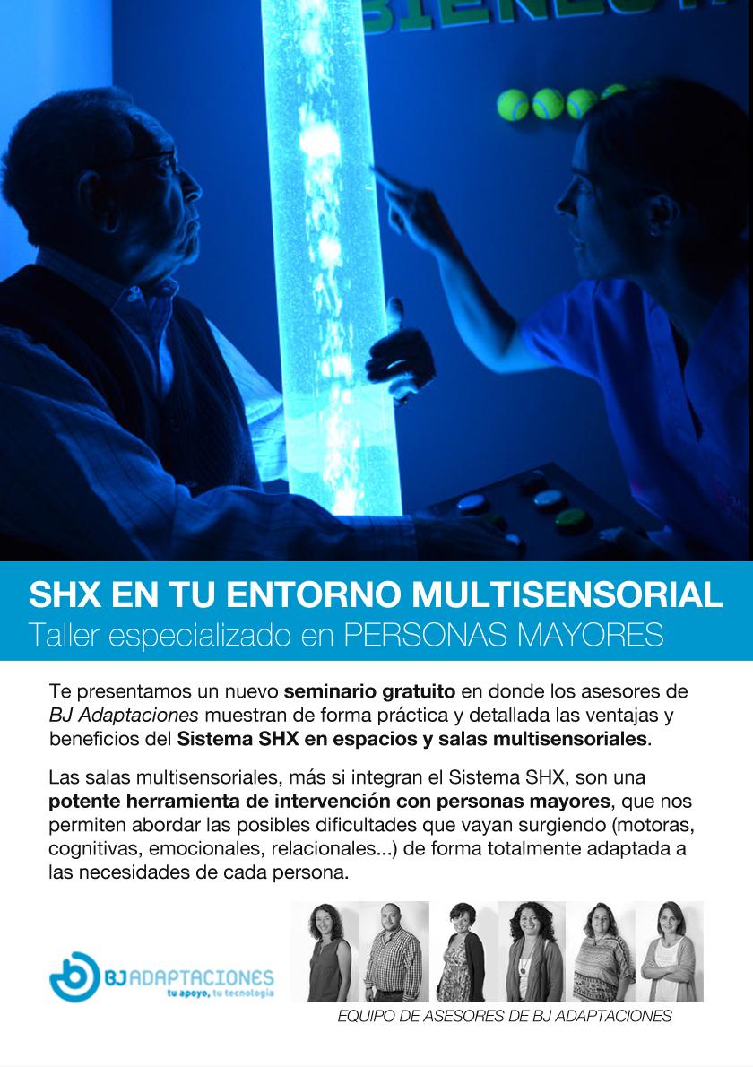 Salas multisensoriales SHX