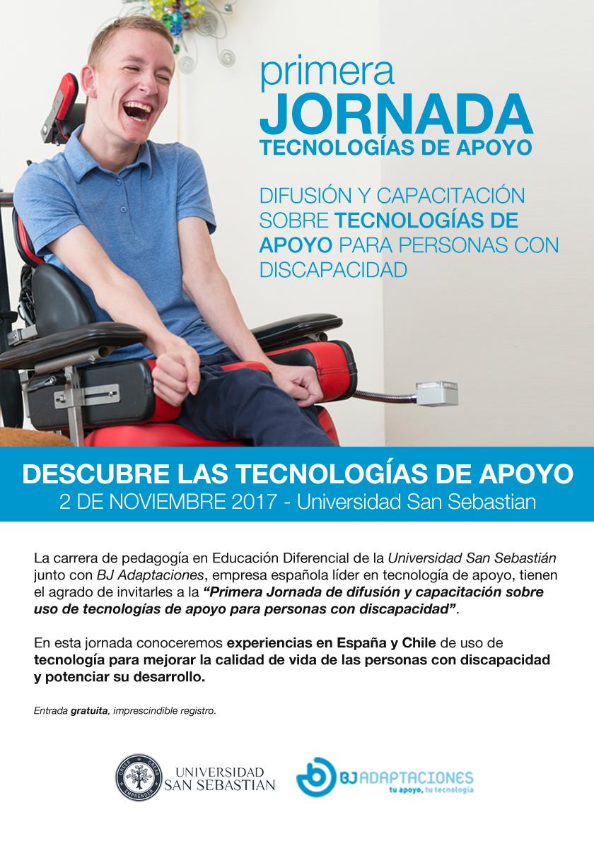 Primera Jornada de Tecnología de Apoyo Chile