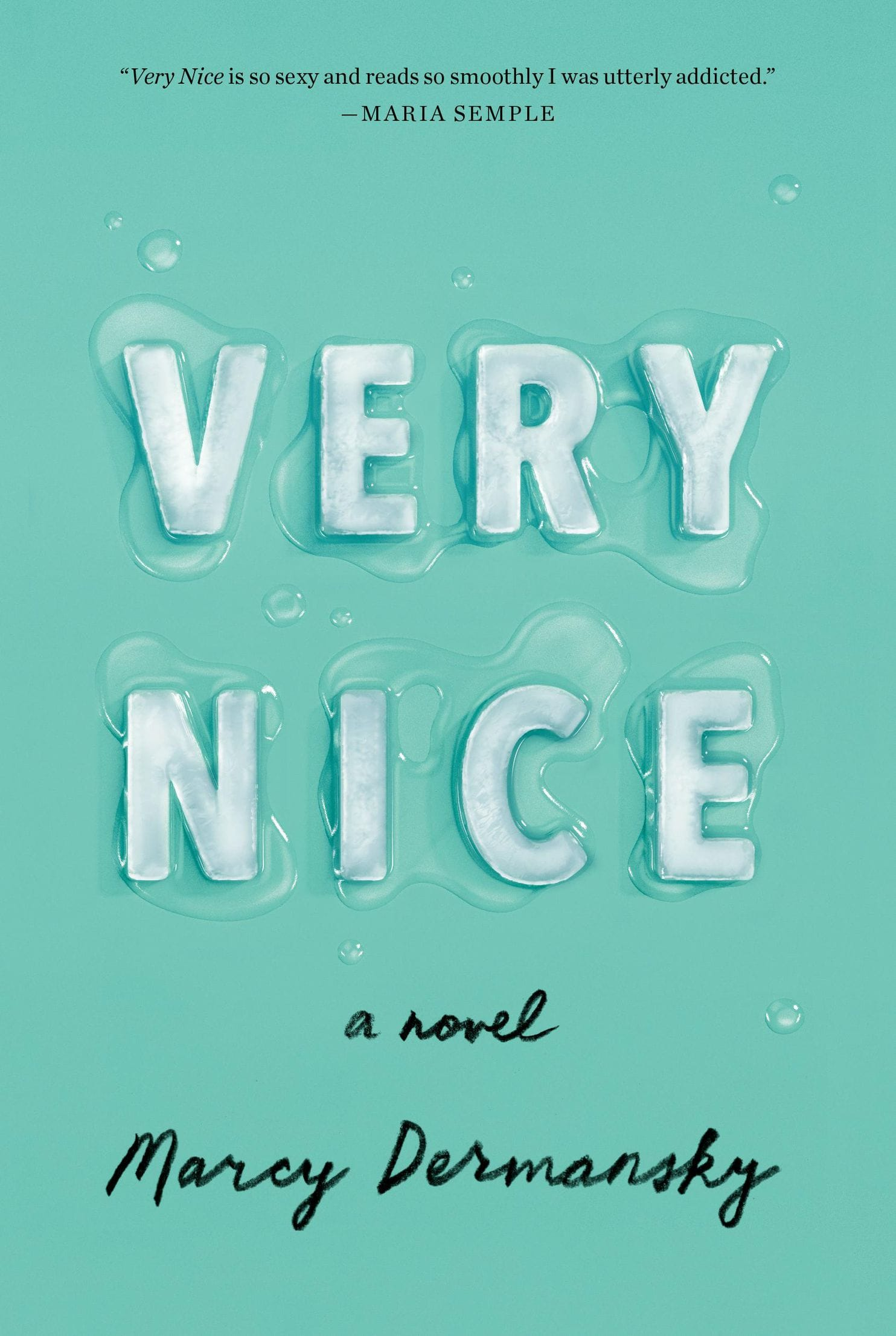 cover of Very Nice by Marcy Dermansky