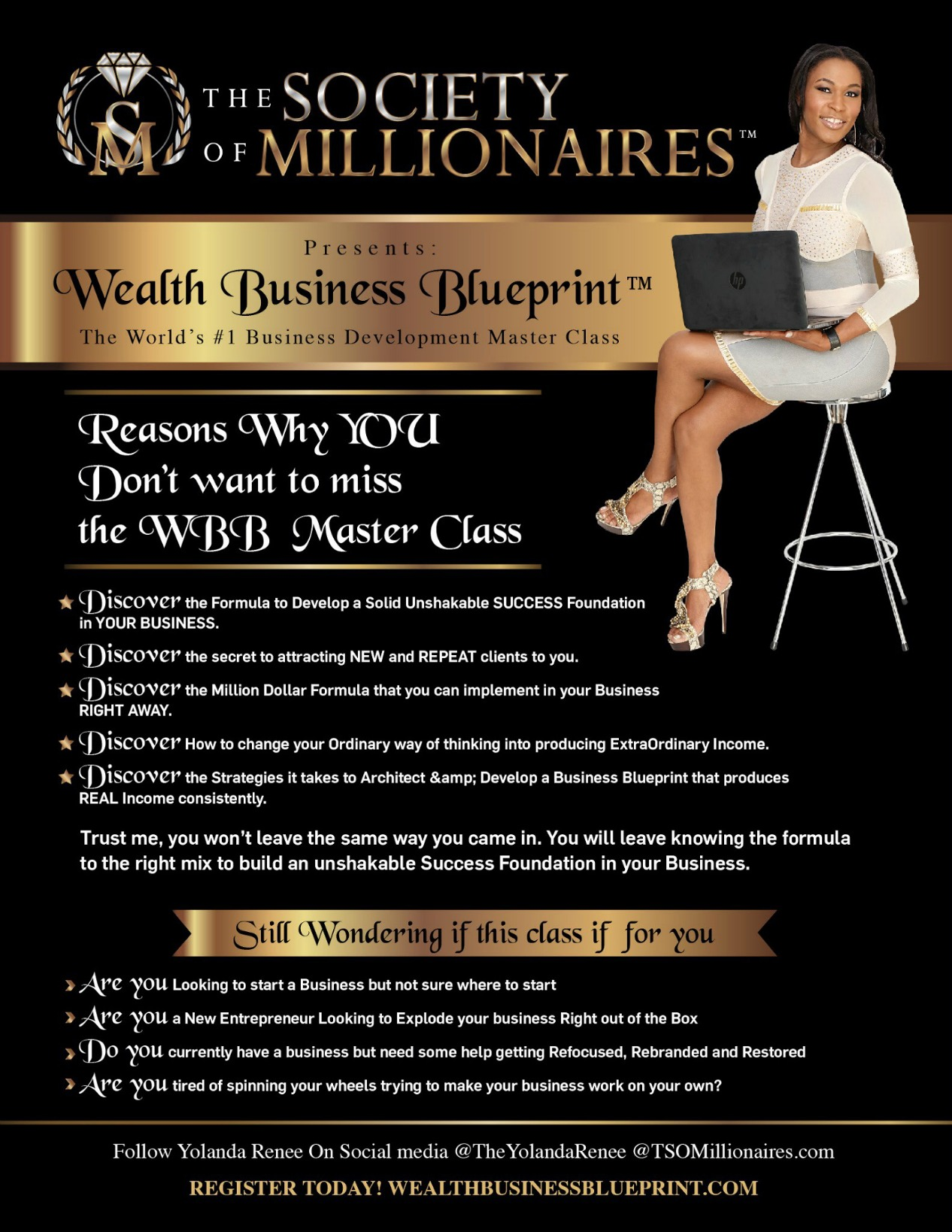 WEALTH BUSINESS BLUEPRINT LIVE MASTER CLASS