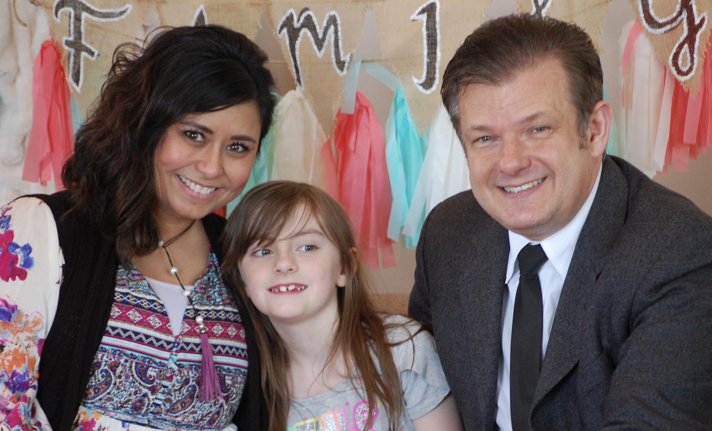 Pastors Keith and Margie Nix, daughter, Isabella Faith