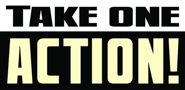 Take One Action Logo