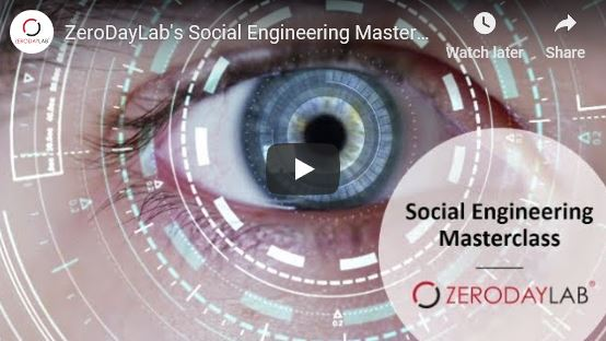 Social Engineering Masterclass Video