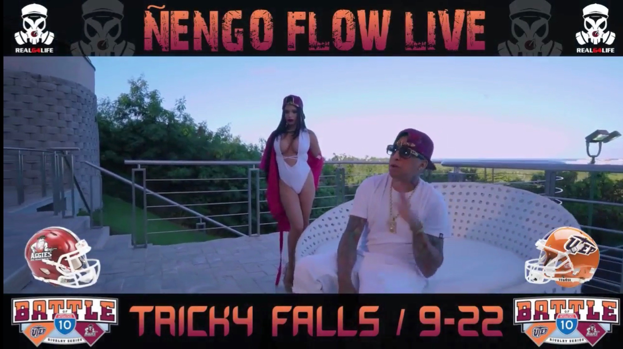 Nengo Flow live in concert at Tricky Falls September 22 9 pm - 2 am.