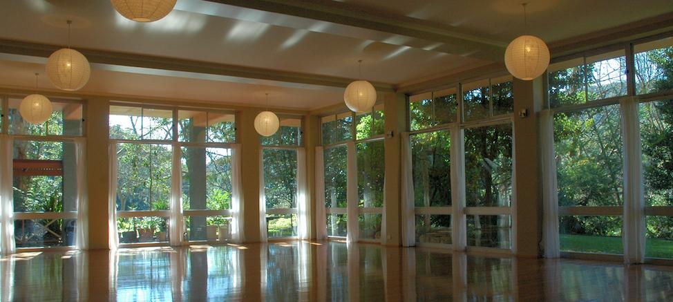 Meditation Hall at Govinda Valley