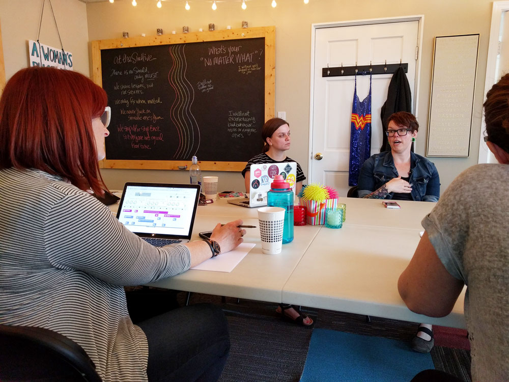 coworking at the shehive in ferndale