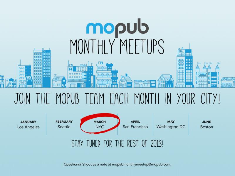 monthly meet up