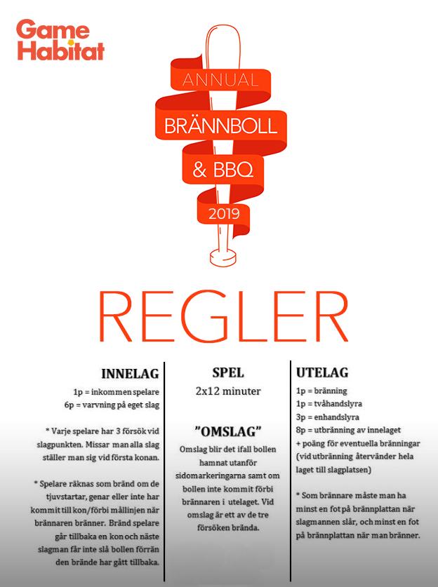 Brannboll rules