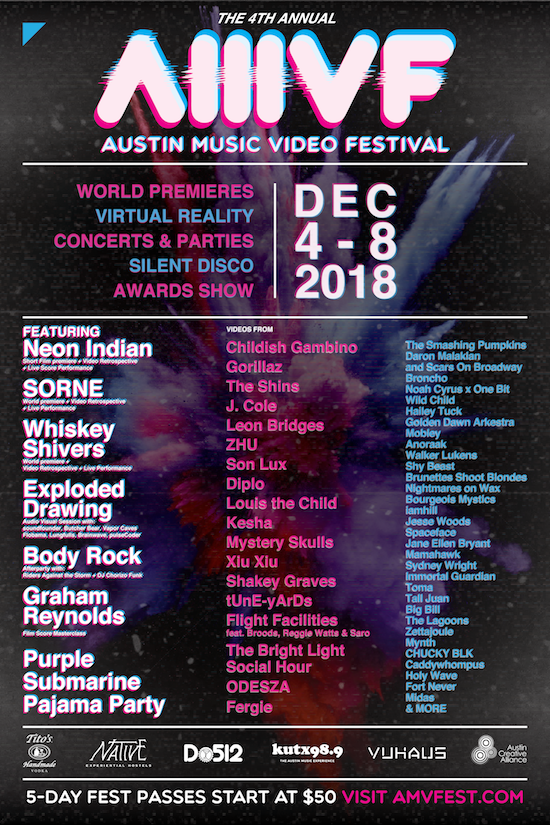 2018 AMVF Full Poster Lineup