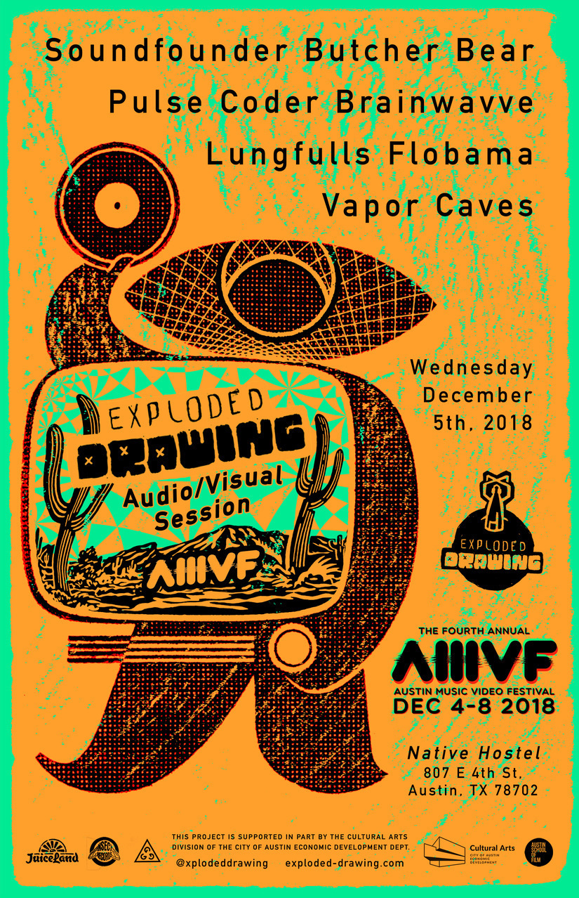 Exploded Drawing at AMVF