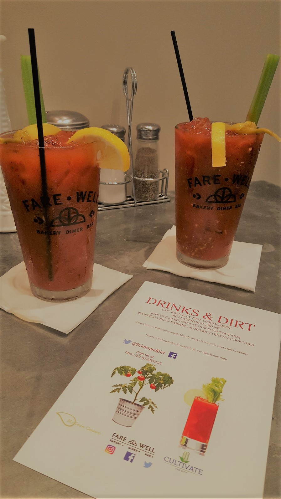 Drinks and Dirt - Bloody Mary Edition
