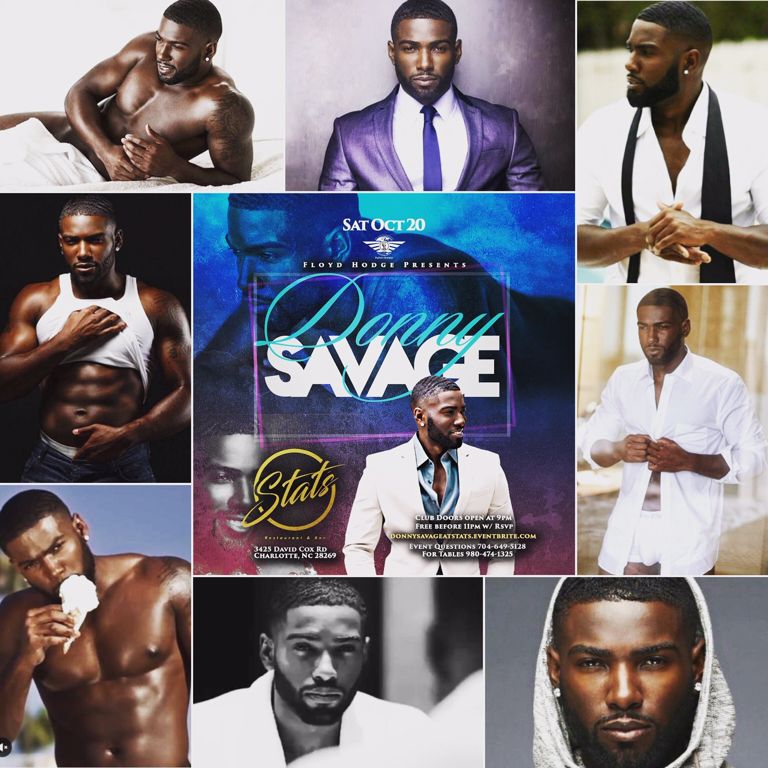Donny Savage Collage