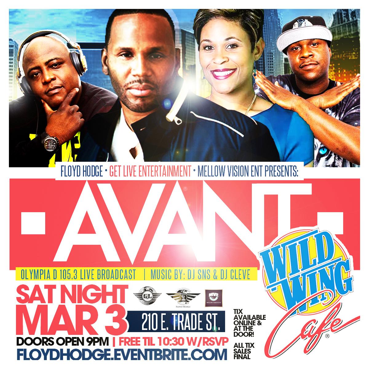 Avant & DJ Cleve & DJ SNS