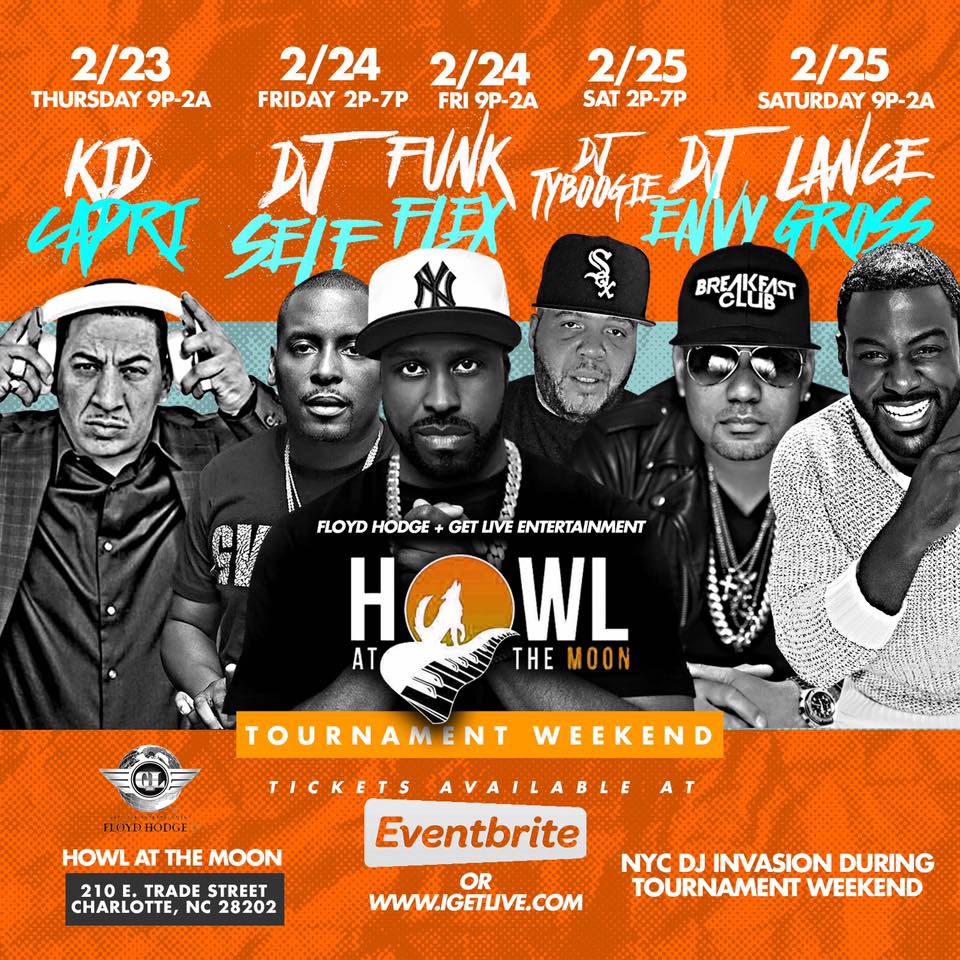 Howl at the moon Line up