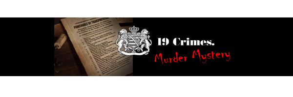 19 Crimes Murder Mystery Maryland