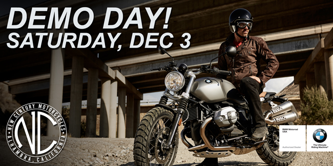 New Century BMW Motorcycle Event Demo Day 2016