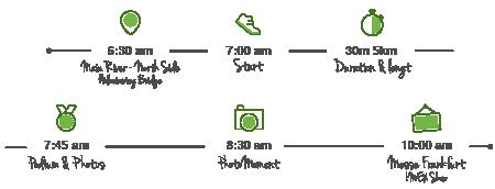 IMEXrun Schedule