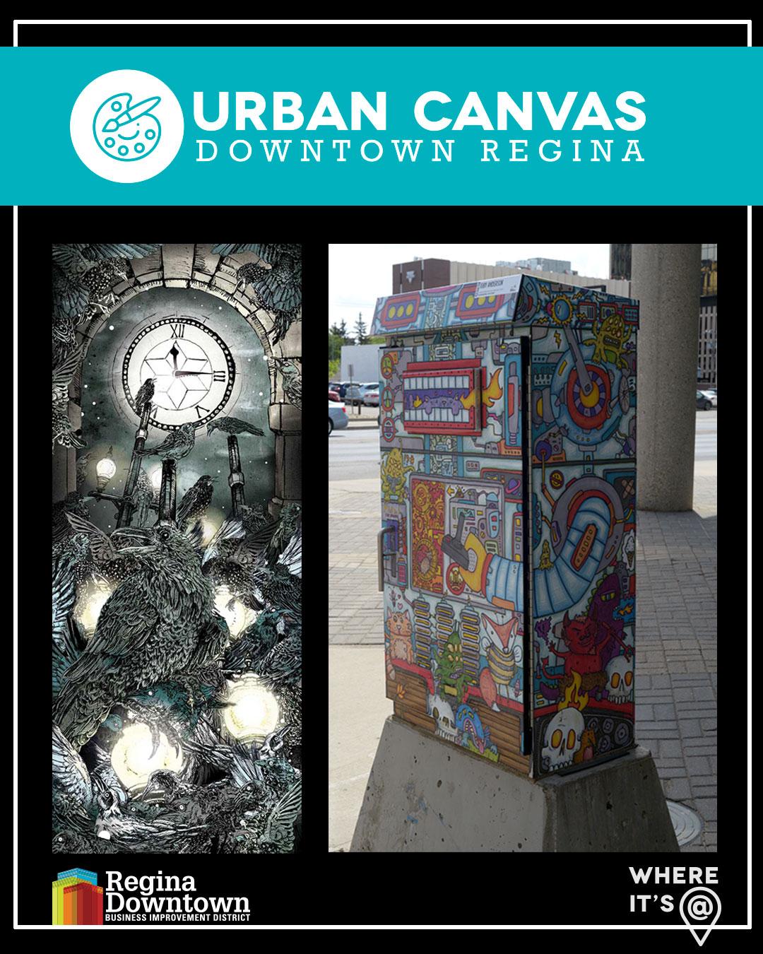 Urban Canvas Art 2019
