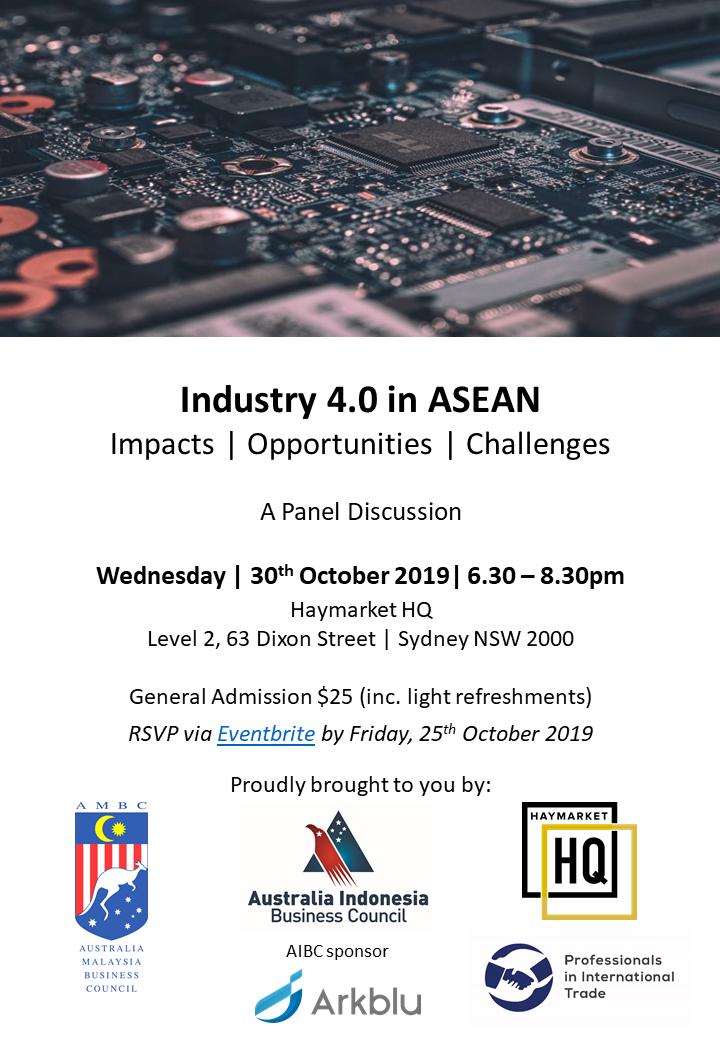 Industry 4.0 in ASEAN