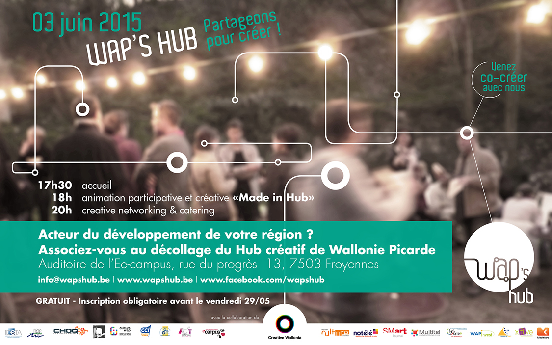 invitation événement Wap's Hub