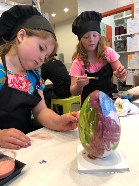 Chocolate Easter Egg Painting Class