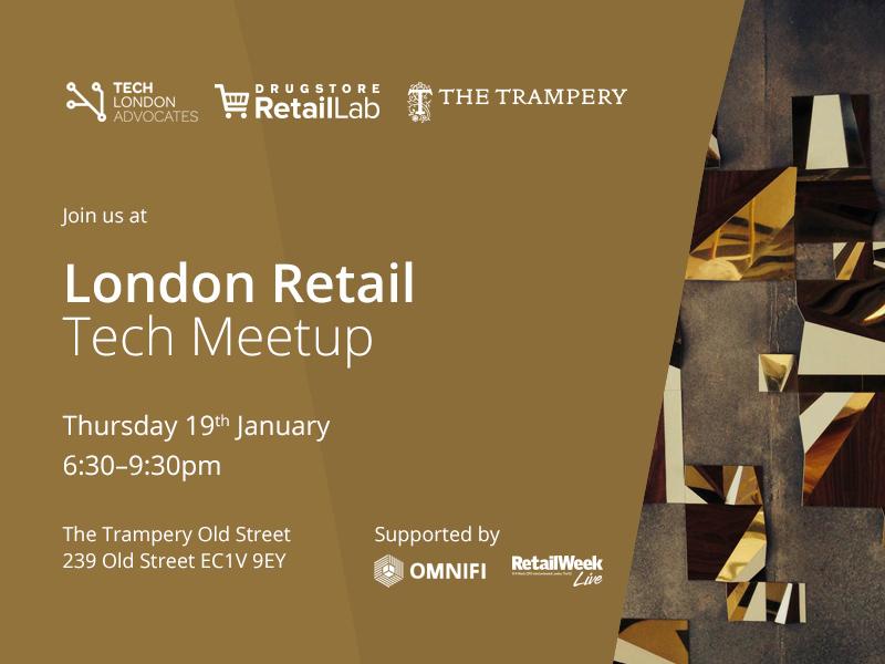 RetailTech Meetup flyer Jan 19th
