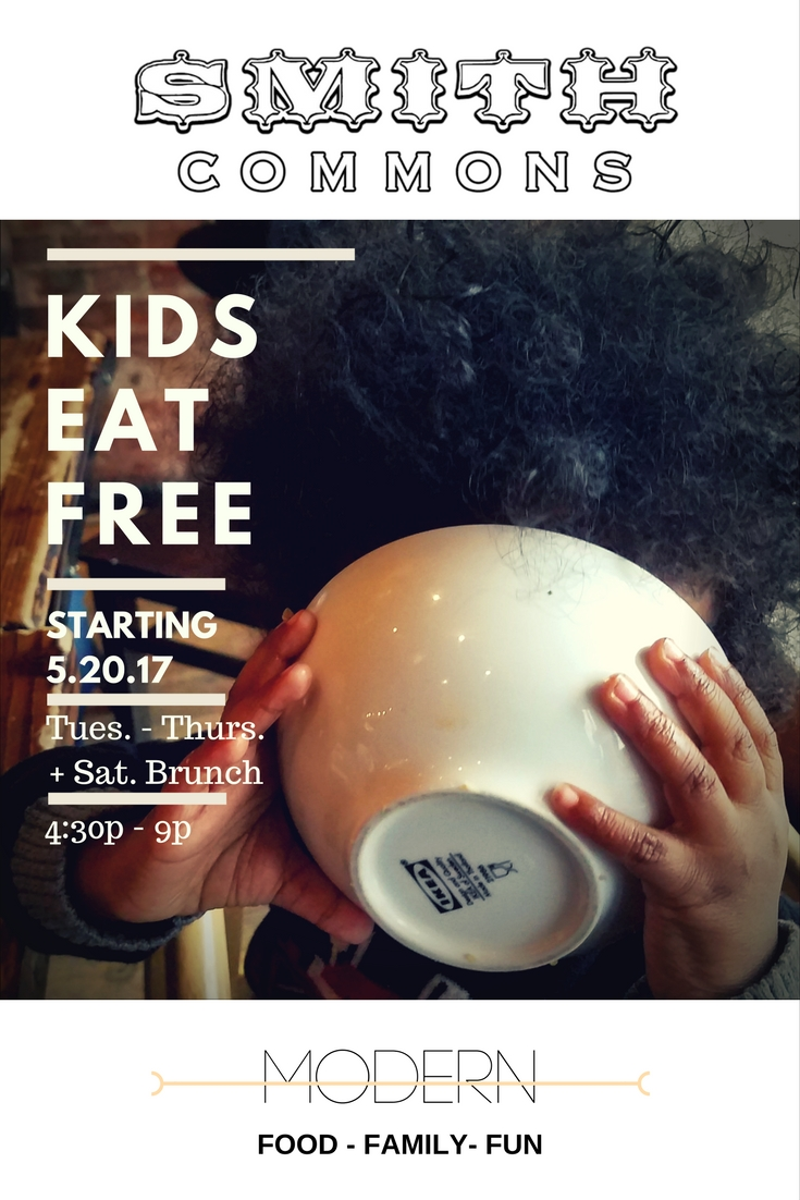 KIDS EAT FREE - YUMMY BOWL IN FACE