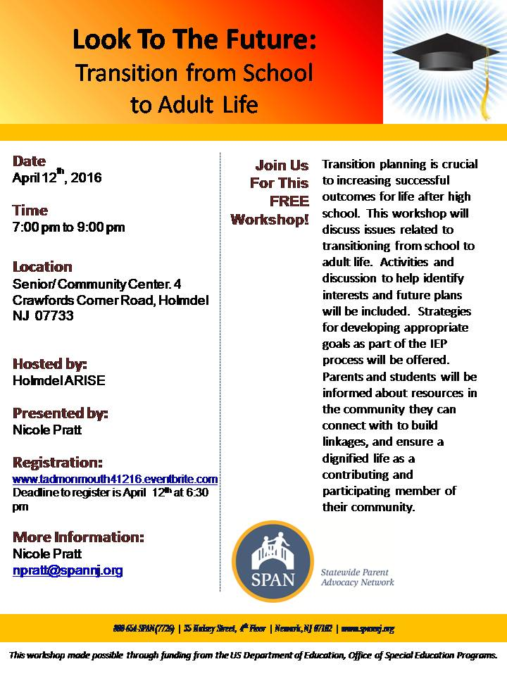 Transition To Adult Life 62