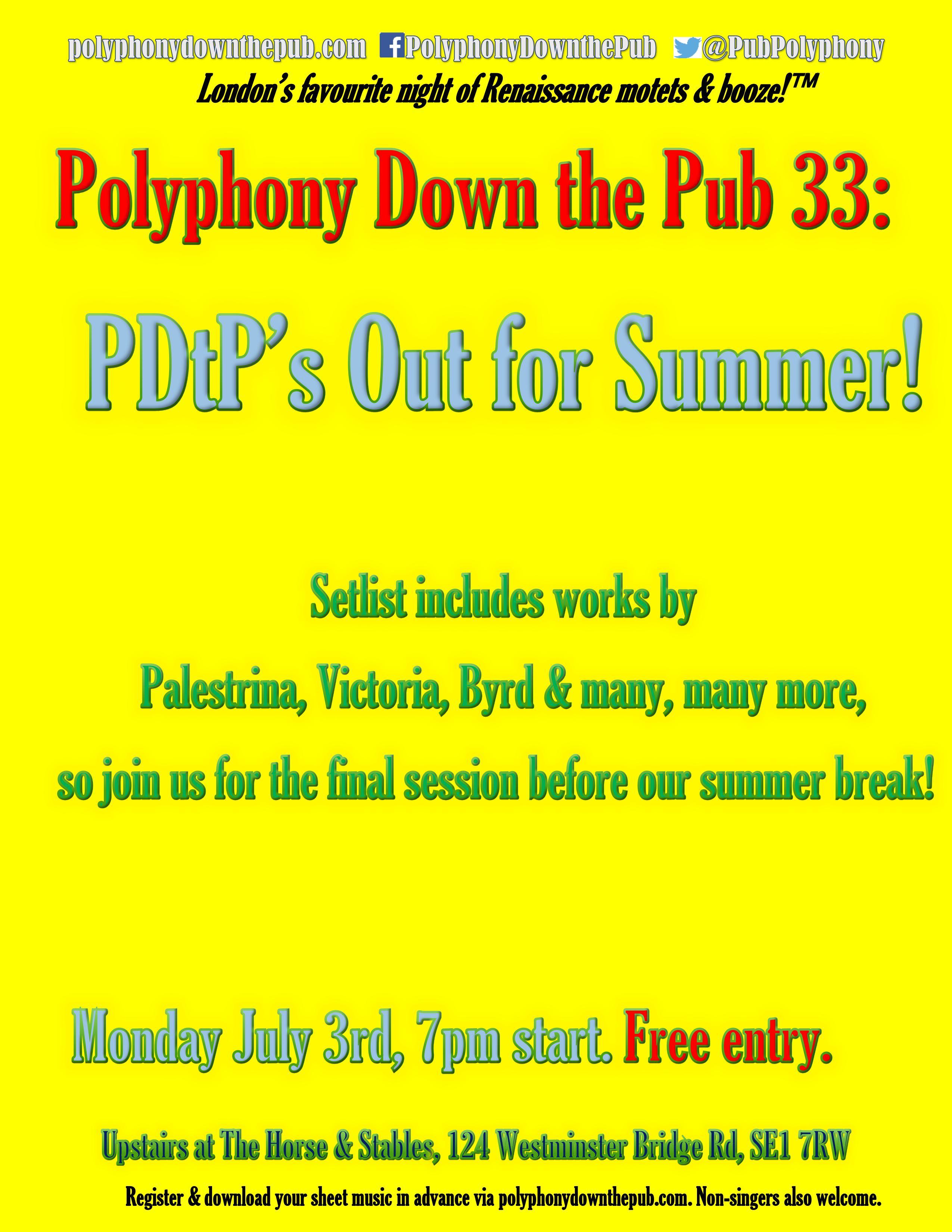 PDtP 33 poster