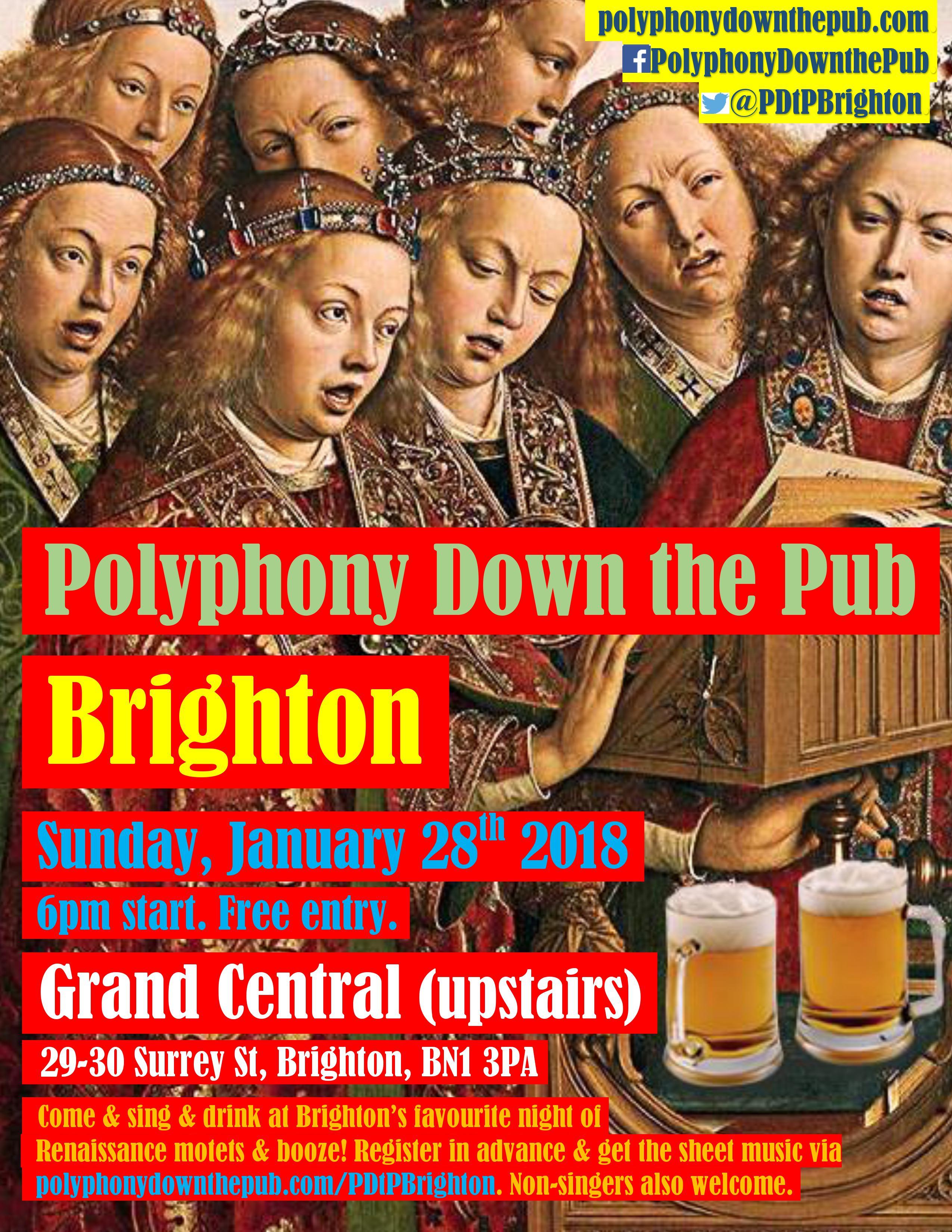 PDtP Brighton Jan 2018