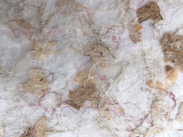 HAB Textiles - Bondaweb sample