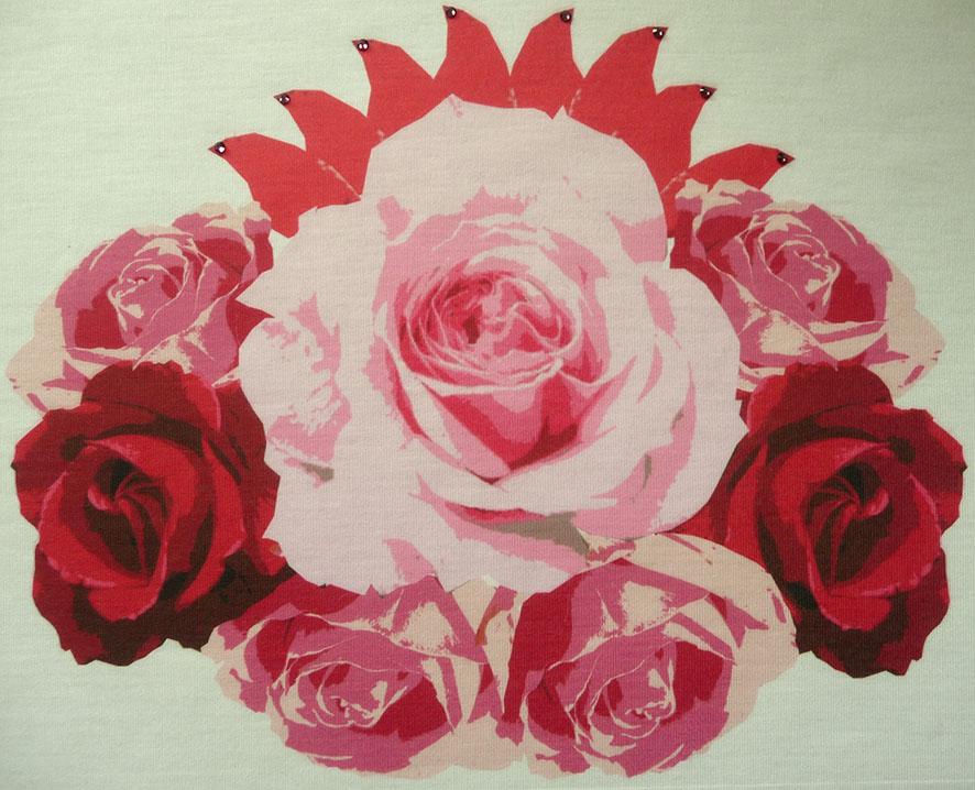 Heidi Ambrose-Brown CADCAM Rose Collage