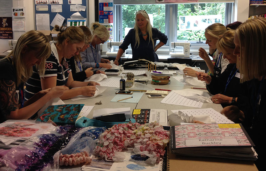 Nicky Simpson - Textiles Skills Academy