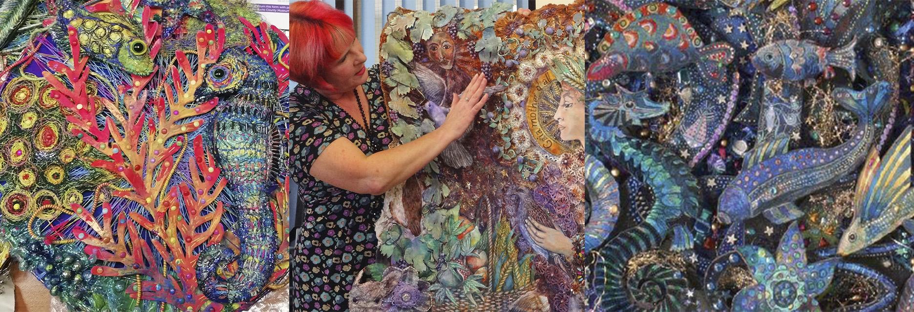 Nikki Parmenter Textiles artist