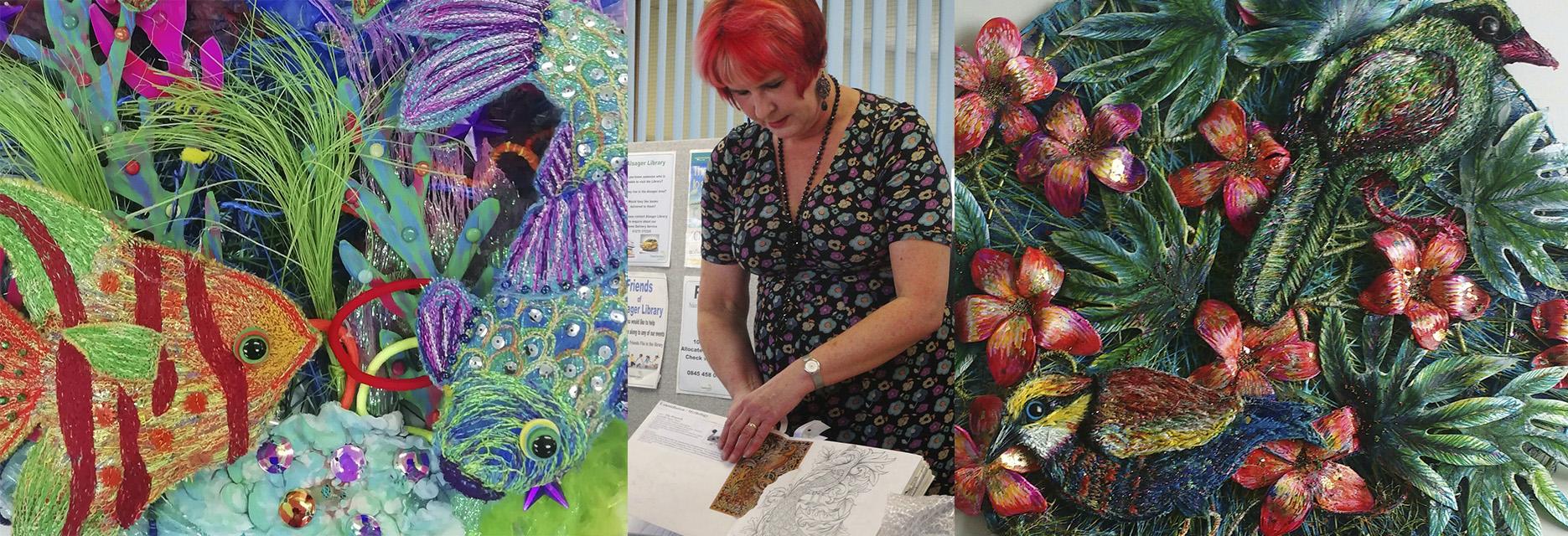 Nikki Parmenter Textiles Artist work