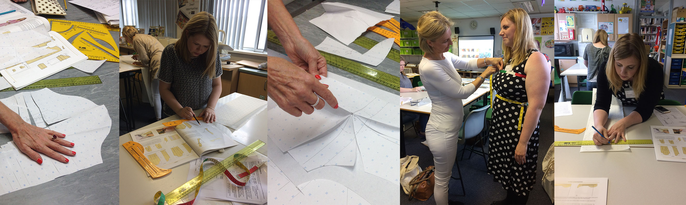 Pattern drafting course - Textiles Skills Academy